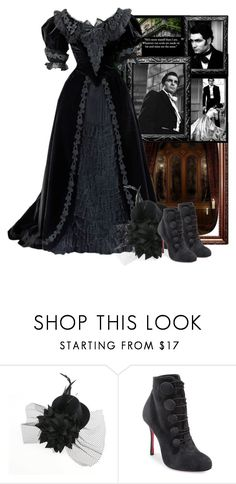 """""""Wuthering heights"""" by fashionrushs ❤ liked on Polyvore featuring Christian Louboutin"""