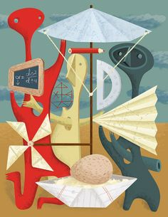 Melinda Beck Illustrates the Egg Drop for Independent School Magazine Egg Drop, Independent School, Abstract Styles, Wonderful Things, Illustrators, Concept Art, Illustration Art, Magazine, Cool Stuff