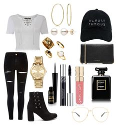"""Untitled #226"" by sdesir on Polyvore featuring Pilot, River Island, Bling Jewelry, MICHAEL Michael Kors, Nasaseasons, Marc Jacobs, Christian Dior, Smith & Cult, Gucci and Chanel"