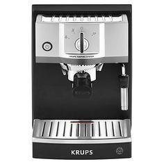 Buy KRUPS XP5620 Espresso Coffee Machine, Black Online at johnlewis.com