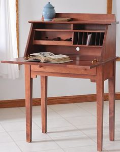 I want a little writing desk like grammy's with my box and a feather quill and ink with handmade parchment, wax and seal, pretty stamps.  And an owl to mail the post obviously