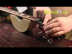 Cómo cambiar Cuerdas Guitarra Eléctrica tipo Gibson - Tutorial Español - YouTube