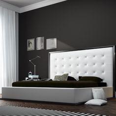 Modloft Ludlow Upholstered Platform Bed | AllModern