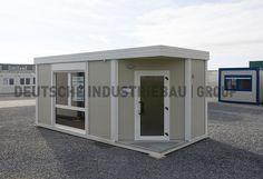 Die gebrauchten und neuen Pavillons und Kioske sind für Industrie, Handel sowie öffentliche Auftraggeber vielfältig einsetzbar.