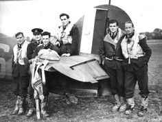 Pilots of RAF 601 Squadron - Battle of Britain - 1940