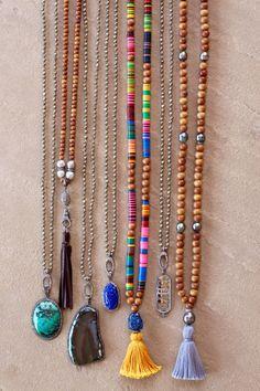 Diamond Pendants on Diamond Clasp Necklace, Lapis Buddha, Add a Pendant or Tassel, Pave Diamonds, Sterling Silver, Gemstones, Long Layering