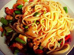 Handmade noodle yummy