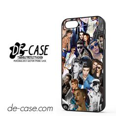 Justin Bieber Collage Photo DEAL-6051 Apple Phonecase Cover For Iphone 5 / Iphone 5S