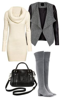 Over the knee style by cl-sugar on Polyvore - Over the Knee boots and over the moon with this outfit