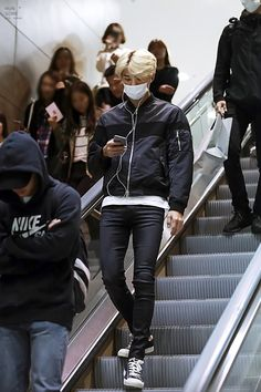 Incheon Airport from Shanghai 151025 : Sehun (1/2)