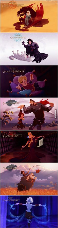 If Disney Made Game of Thrones - 9GAG