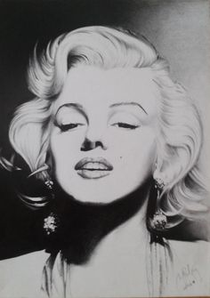 Marylin Monroe by Mipo-Design  | This image first pinned to Marilyn Monroe Art board, here: http://pinterest.com/fairbanksgrafix/marilyn-monroe-art/ || #Art #MarilynMonroe