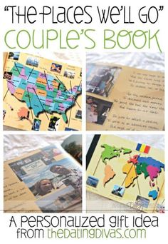 Best Diy Gifts For Him Anniversary Dating Divas 16 Ideas Cute Gifts, Diy Gifts, Mahal Kita, My Sun And Stars, Travel Scrapbook, Couple Scrapbook, Dating Divas, Love And Marriage, Marriage Advice