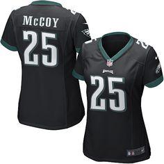 Womens Nike Philadelphia Eagles http://#25 LeSean McCoy Elite Alternate Jersey$109.99