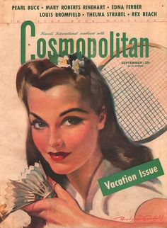 Cosmopolitan Magazine, September 1941 (Bradshaw Crandell)