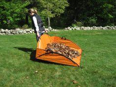 Tools: EZ Leaf Hauler - Leaf Tarp | Gardeners.com