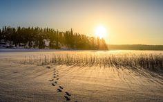 Ice Road by Rosen Velinov on Ice, Celestial, Sunset, Nature, Outdoor, Outdoors, Naturaleza, Sunsets, Ice Cream