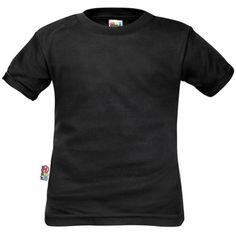 T-shirt enfant noir uni