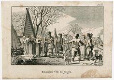 Johann Nussbiegel: Masopust (Carnival), 1818