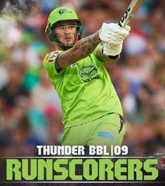 As Seen On: Australia's Sydney Thunder cricket team has begun using AREA 51 as their main branding font! Check out how great it looks on their website and social media @thunderbbl -- if they start using it for the jersey numbers, well, we may just have to move to Australia. Key Player, Moving To Australia, Brand Fonts, Trust No One, Area 51, Cricket, Numbers, Branding