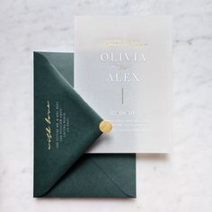Gold Foiled+White Ink Translucent Vellum Save The Dates with Premium Envelope & Gold Sticker White Tuxedo Wedding, Wedding Favors, Our Wedding, Decoration Gris, Addressing Envelopes, Paper Envelopes, Foil Stamping, Wedding Stationary, Green Wedding Invitations