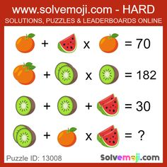 Solvemoji - Free teaching resources - Emoji math puzzle, great as a primary math starter, or to give your brain an emoji game workout. Math Problem Solving, Teaching 6th Grade, Third Grade Math, Maths Starters, Hebrew School, Math Challenge, Delaware, Primary Maths, Home