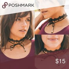 🆕ALUNA layered choker- BLACK 100% polyester. Layered dainty choker. Lobster clasp. Jazz up any outfit with this cutie!   🚨NO TRADE, PRICE FIRM🚨 Bellanblue Jewelry Necklaces