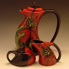 poppy tea pot