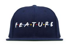 Feature Friends Snapback - Navy