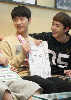 [IMAGE][STARCAST][REAL 2PM] 2PM Rankings (+ Nichkhun's Special Gift) Story & Images http://m.star.naver.com/2pm/news/end?id=2819117 Official Channels for information: ▶Homepage: http://2pm.jype.com ▶Facebook: http://facebook.com/2pm.jype ▶Twitter: http://twitter.com/follow_2pm ▶FanCafe: http://cafe.daum.net/2PM