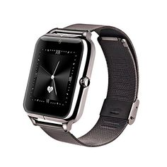 Bestseller2888 New fashion Bluetooth Smart Watch Cell Phone GSM NFC Pedometer Fitness Tracker 430mAh Z50 with heart rate SIM card TF mp3 mp4 compatible with Iphone and Android Phones BLACK ** Want to know more, click on the image.