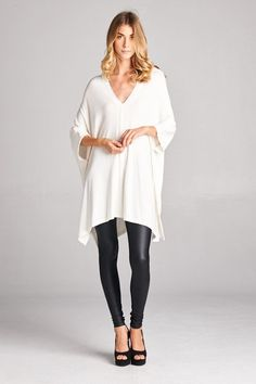 Living the Dream White Tunic Top Shop Simply Me Boutique Shop SMB – Simply Me… Swiss Style, White Tunic Tops, Fashion Boutique, Boutique Shop, New Fashion, Womens Fashion, Knitted Poncho, Fall Winter Outfits, Latest Trends