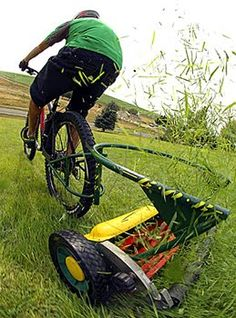Grass Cutting Bicycles???