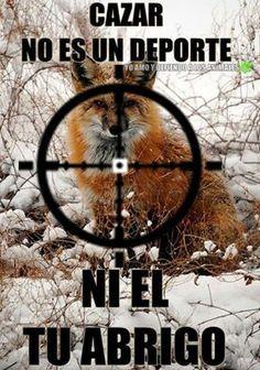 No a la caza y no al uso de pieles!