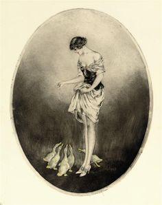 Louis Icart 1890-1950 | Franse Art Deco schilder en illustrator