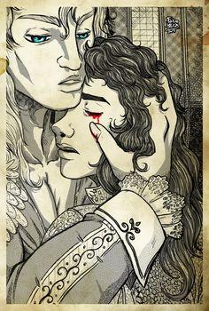 Marius and Armand - The Vampire Chronicles Tumblr