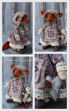 Cute little fox doll dress up. XD