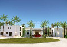 Espectacular Villa Moderna en primera Línea de Playa al oeste de Marbella - Villa en venta en New Golden Mile, Estepona