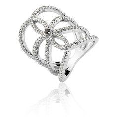 CR PRATAS, marca expositora da Feira Bijoias. pérola, pearl, ring, silver, prata, anel
