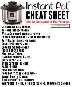 How to Convert Recipes into Instant Pot Recipes | Six Sisters' Stuff