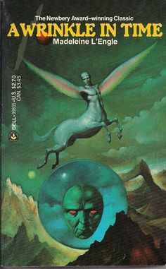 A Wrinkle In Time - I may have to read this again.  I read it as a teen or pre-teen, and it's crossed my mind soooo many times through the years.