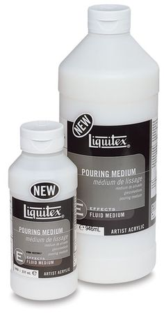 Liquitex Pouring Medium - BLICK art materials. Use to make poured acrylic…