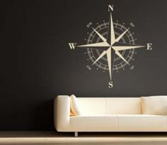 Nautical Compass Wall DecalGive yourself some direction in life by adding the nautical compass wall decal to your home. With its ability to always point you in the right direction, the nautical compass wall decal will give you a truly centered feeling in your own home.$34.95Check It OutAwesome Sh*t You Can Buy