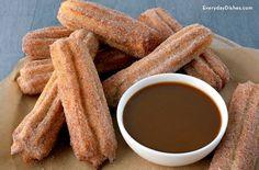 Baked churros recipe
