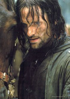 Aragorn II, son of Arathorn is a fictional character from J. R. R. Tolkien's legendarium. He serves as one of the protagonists of The Lord of the Rings.
