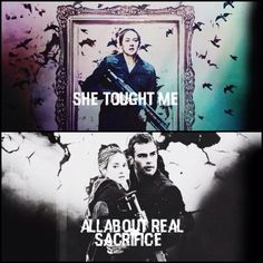 Every time if see this or something from the books/movie I cry a little inside!! ~Divergent~ ~Insurgent~ ~Allegiant~