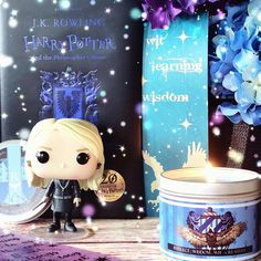 Intellect - #cumcumber #jasmine #greentea and #coconut leaf scented #candle inspired by house #ravenclaw and #handmade by #happypiranha - pic by @lunireads  #harrypotter #handmade #fitideas #luna #lunalovegood #ravenclawpride #eagle #blue #potterhead #trending #home #homedecor #esty #etsyseller #smallbusiness #books #bookishmerch