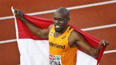 Churandy Martina heeft bij de Europese kampioenschappen in Amsterdam goud veroverd op de 100 meter. De 32-jarige sprinter verslaat, na een enorme versnelling aan het eind, met miniem verschil de Turk Jak Ali Harvey. Beiden noteren 10,07 seconden, maar Martina wordt als winnaar uitgeroepen.  Martina moest in de finale van ver komen. Zijn start - vaak het pijnpunt - was redelijk goed. De versnelling in het tweede deel van de race was iedereen te machtig. Solomon Bockarie, de tweede Nederlander…