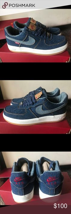 newest e93e8 ef5fd Air Force 1s Low-top Levi Brand new!! Levis inspired Air Force 1