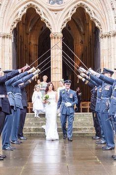wpid400387-york-raf-wedding-blue-cape-bride-9 - A Blue Hooded Cape for a Winter Military Wedding at York Minster